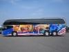 Fahrzeugvollverklebung Reisebus