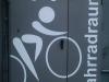 Beschriftung Fahrradräume mit Folienplot