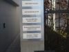 Alu-Verbund Schild mit Folienplott beschriftet